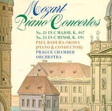 MOZART PIANO CONCERTOS 21 & 24 PAUL BADURA-SKODA PRAGUE CHAMBER ORCHESTRA L6334