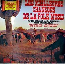 TEX WILLIAMS/THE SUNDOWNERS folk music 2LP RARE EX++