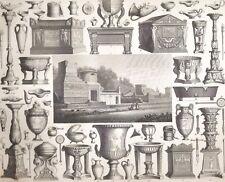 Usanze Nazionali Pompei vasi e oggetti di culto