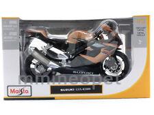 MAISTO 31106 SUZUKI GSXR GSX-R 1000 BIKE 1/12  BLACK / BRONZE