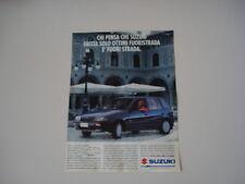 advertising Pubblicità 1994 SUZUKI SWIFT