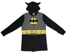 Batman Licensed Romper One Piece Fleece PJ Pajama Womens NWT New