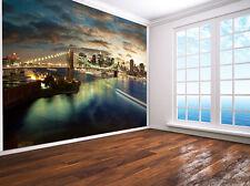 Brooklyn Bridge Manhattan New York photo Wallpaper wall mural (9316759) USA