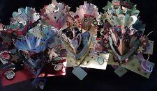 US 3D Pop Up Russ Greeting Card Centerpiece Birthday 30 40 50 60 Congratulations