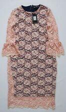 Next Maternity Dress Lace Pink Size 8,14,20,22