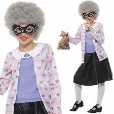 Child Deluxe Gangsta Granny Costume David Walliams Book Day Fancy Dress New