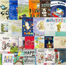 Nephew Birthday Card - Various Designs Available