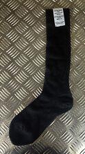 Genuine British Army Wool / Nylon - Black Long Thin Socks Lot - BRAND NEW