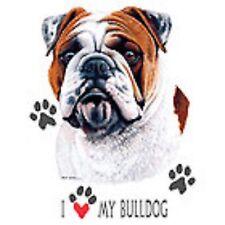 Bulldog Love Crew Sweatshirt Pick Your Size Small -5 X Large