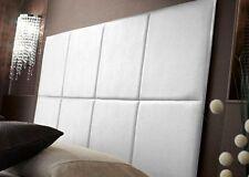 Testata letto matrimoniale imbottita testiere camera 2 piazze design B&B albergo