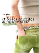 """Livres de Poche """" Hanches et Fesses Parfaites en 10 minutes jour """"  ( No 208  )"""