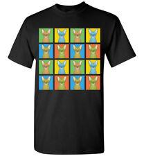Oriental Shorthair Cartoon Pop-Art T-Shirt Tee, Men Women Youth Tank Short Long