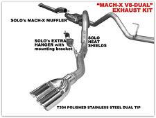 "Ford F150 Cat Back Kit 5.0L Dual Exhaust Kit 157"" Wheel Base 2011 - 2014"