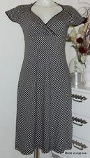 King Louie Kleid Bardot Gina Cross dress NEU Etikett S M schwarz black