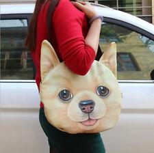 BONITO 3d estampado Corgi perro Mujer Niña Escuela Universidad Bolsa lbag77