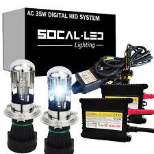 SOCAL-LED AC 35W 9003 H4 BI-XENON HID Kit H/L Headlight Conversion Bright 4K-12K