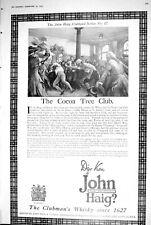 1923 John Haig Clubmans Whisky Cocoa Tree Club Series 17 Clubland 269M207