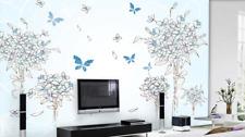 3D Farfalle 03 Parete Murale Foto Carta da parati immagine sfondo muro stampa