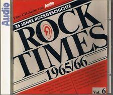 Audio Rock Times vol. 6 1965-66 CD Various AUDIOPHILE