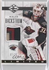 2012-13 Panini Limited Jerseys Prime #LJ-NK Niklas Backstrom Minnesota Wild Card