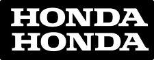 HONDA (2 PACK) Honda Civic Motorcycle Vinyl Decal Sticker Car Truck Window