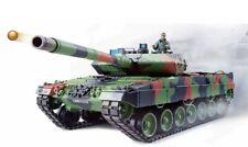 RC Panzer German Leopard 2A6 Heng Long 1:16 Rauch & Sound 2.4GHz Metallgetriebe