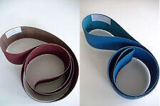 Schleifbänder 75x2000 mm oder 150x2000 mm Schleifband INOX VA Holz Metall Stahl