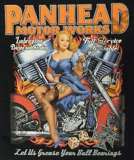 T-shirt 753 head biker hotrod Pinup Route 66 v8 USA CUSTOM MC MF Shovelhead