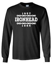 IRONHEAD 57-85 Longsleeve T-shirt - S to 5XL - Harley Davidson Sturgis