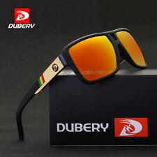 DUBERY Men's Polarized Sunglasses Aviation Driving Sun Glasses Men Women Sport