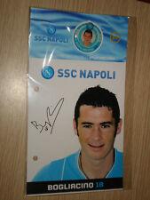 COLLEZIONE SSC NAPOLI SPILLE PINS 2007/2008 SPILLA N° 7 MARIANO BOGLIACINO