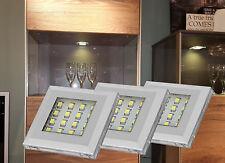 LED Unterbauleuchte Küchenleuchte Vitrinenleuchten Möbelleuchte Set 2115-16/4189