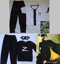 Ben10 & Zorro Super Hero Kids Costume Dress up Cosplay- 3-10yrs