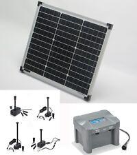 30 W Pompe solaire batterie de bassin cours d' EAU D'étang jardin LED