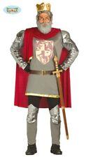 GUIRCA Costume Cuor Di Leone Re medievale carnevale uomo adulto mod. 80848