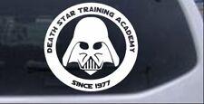 Star Wars Death Star Academy Darth Vader Car Truck Window Decal Sticker