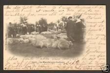 MOULINS à MONTLUCON (03) Marché aux Cochons ,Obl° train