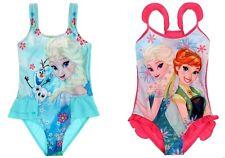 Kinder BADEANZUG *Anna & Elsa *Disney Frozen*DIE EISKÖNIGI*Gr: 104 - 140