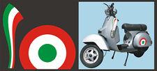 Adesivi tricolore Piaggio Vespa - adesivi/adhesives/stickers/decal