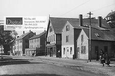 Reprint of Early 1900s photo of Humphrey Street, Swampscott