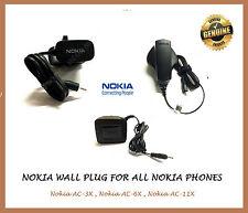 Adaptador de enchufe de pared de red genuino AC-3X/AC-6X/AC-11X para NOKIA LUMIA 636 935 730