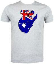 Australian Flag Koala T shirt , Choice of size & colours, Australia Day