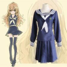 Anime TIGER×DRAGON Toradora Aisaka Taiga Cosplay Costume Sailor School Uniform