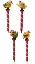 """Kugelschreiber """"Smiley Weihnachten"""" Stift Emoticon Emoji Schule Büro Geschenk"""