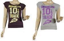 Ladies Girls Top Sleeveless Round Neck Stretch Vest Top Womens T shirt top10-14