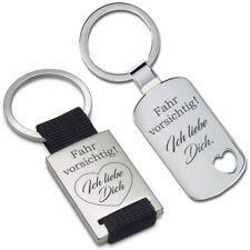 Lieblingsmensch® Schlüsselanhänger Modell: Fahr vorsichtig! Ich liebe Dich.