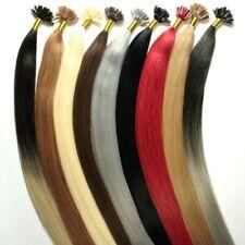 Extensions Echthaar Remy Haarverlängerung Strähnen Bonding 40cm, 50cm, 60cm