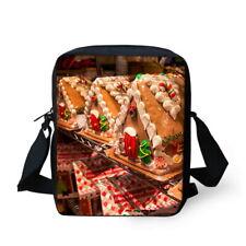 Christmas Women's Men's Messenger Bag Crossbody Bags Shoulder Satchel Handbag