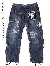 Hip-Hop Baggy Hose by VSCT *LACROSSE* Cargo Style-dark blue Jeans Look *Neu