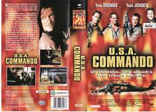 U.S.A. COMMANDO (2000) VHS